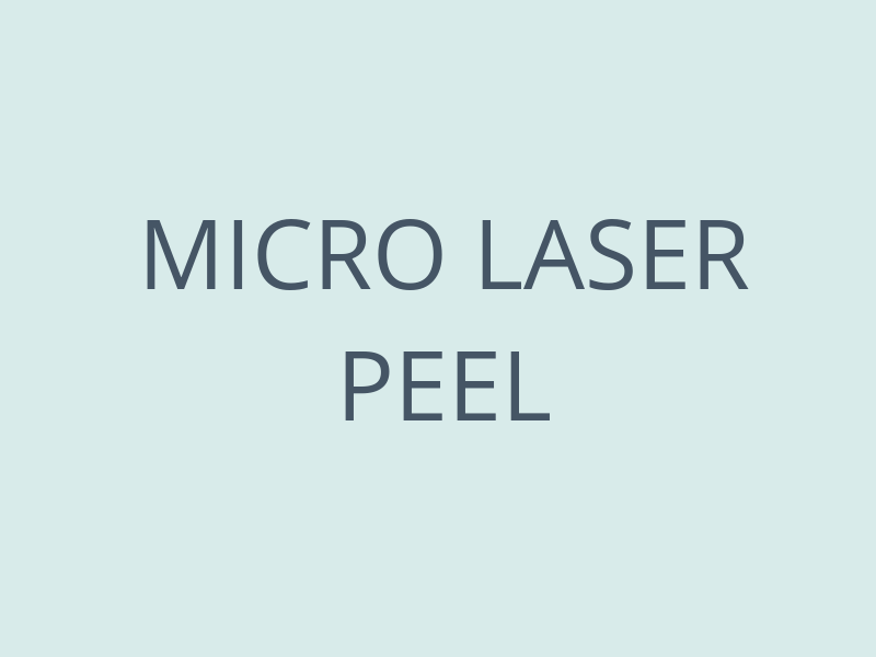 Micro Laser Peel - Anne Therese - Gahanna and Lewis Center, Ohio